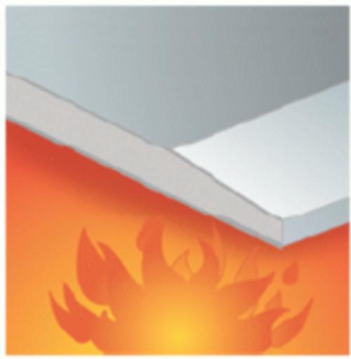 Trockenbauplatte Brandschutz