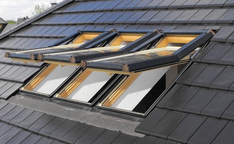 Kunststoff dachfenster skylight premium wei - Dachfenster skylight ...