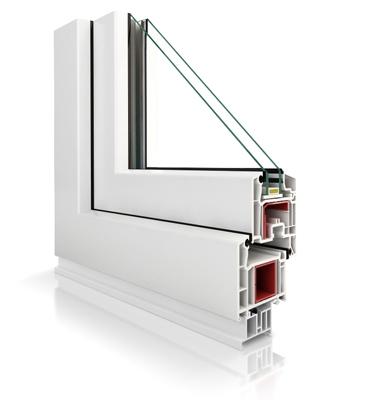 Fenster aus kunststoff veka perfectline vp70 5 kammern for Fenster aus kunststoff