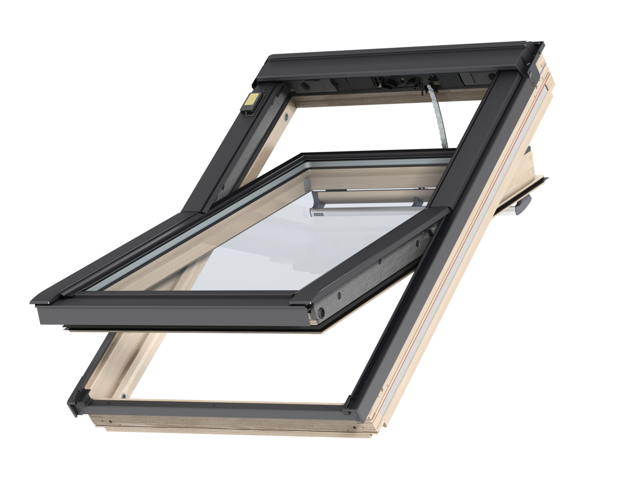 elektrische velux dachfenster gll 1055. Black Bedroom Furniture Sets. Home Design Ideas