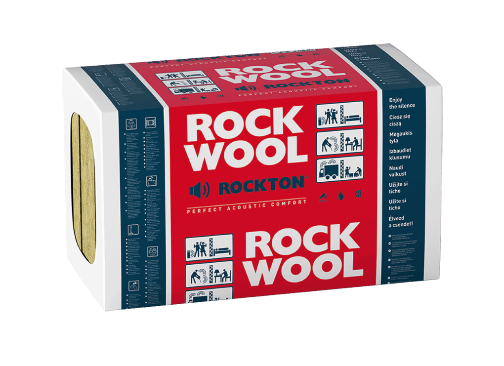 Sound and thermal slab rockwool rockton insulation for for Rockwool sound insulation