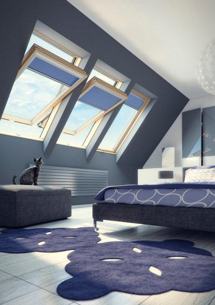 dachfenster fakro ftp v u3 2 fach verglasung schwingfenster aus holz. Black Bedroom Furniture Sets. Home Design Ideas
