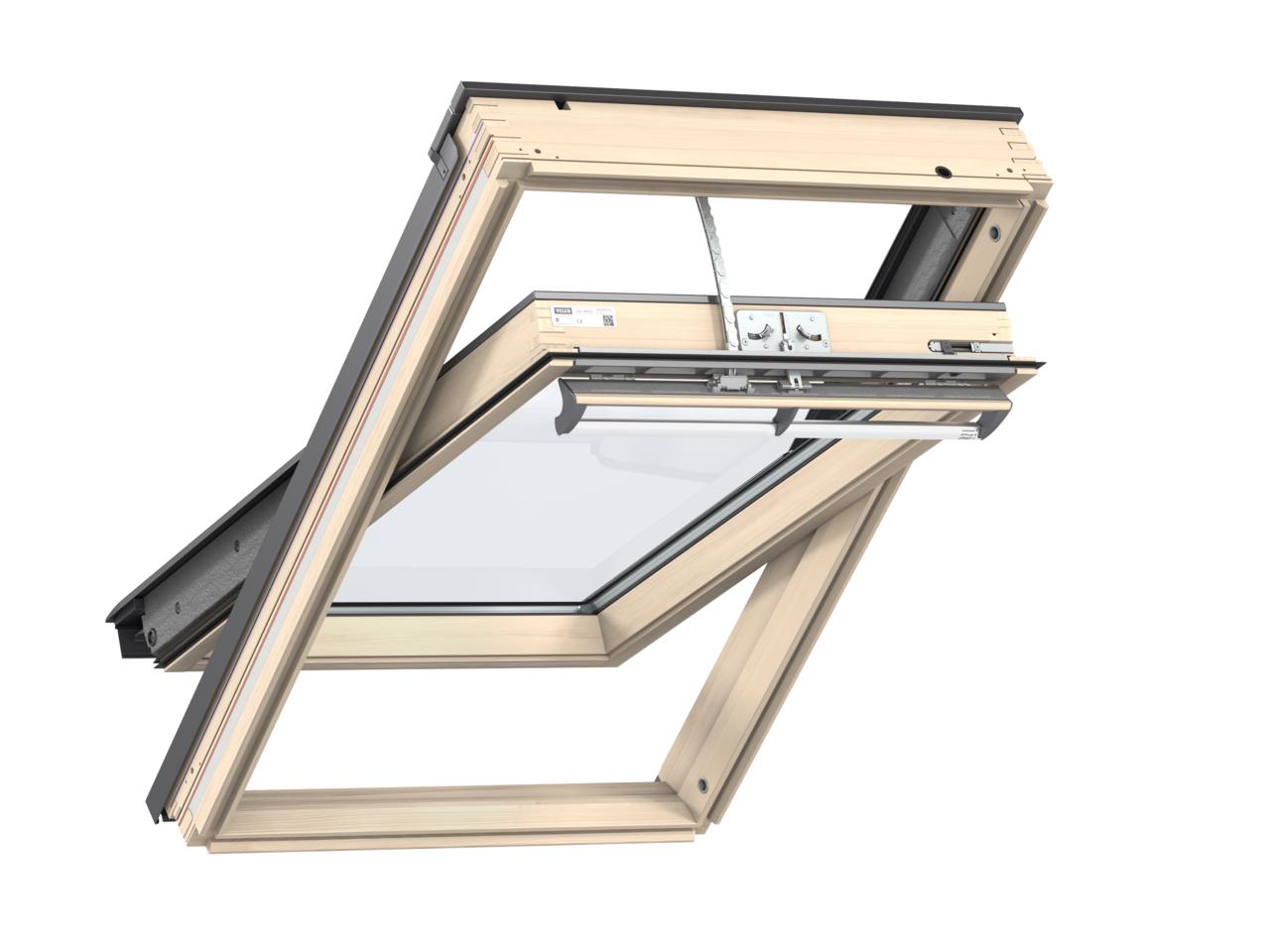 dachfenster velux ggl 3066 integra. Black Bedroom Furniture Sets. Home Design Ideas