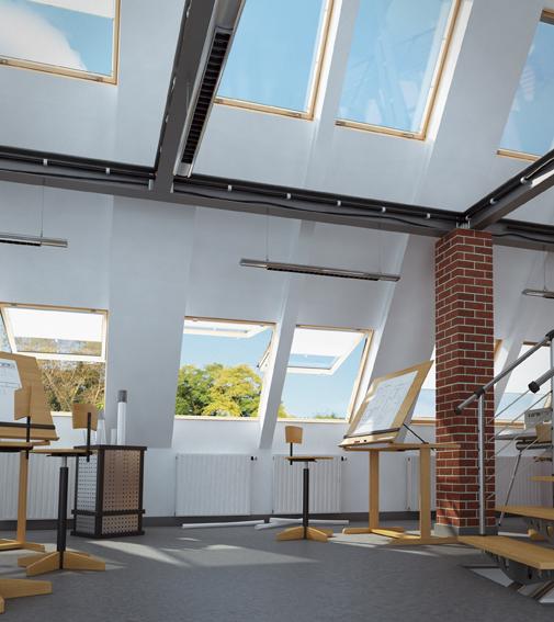 mehrzweck dachfenster von fakro klapp schwing vsg esg. Black Bedroom Furniture Sets. Home Design Ideas