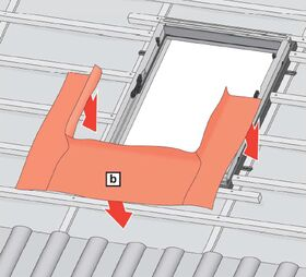 Anschlusspaket für Montage und Dämmung